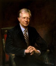 # 39 - File:James E. Carter -  In Office - 1977 - 1981  Date of Birth / Death - 1924 -    portrait.gif