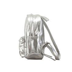 Metallic Backpack Silver