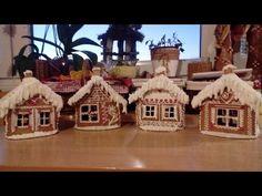 Jana Melas Pullmannová: Medovníkový domček z Marína keksov za pár minút Biscuits, Isomalt, Christmas Cookies, Youtube, Gingerbread Houses, Xmas, Sweets, Crack Crackers, Enamel