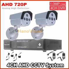 135.31$  Buy now - http://ali0xy.worldwells.pw/go.php?t=32657866181 - 2 pcs outdoor waterproof 720p 1.0mp AHD cctv camera +4ch DVR Recorder video surveillance kit Night Vision security camera system