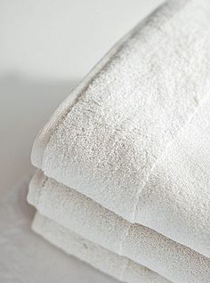 White towels ❤