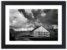 "11"" x 14"" Limited Edition Fine Art Landscape Photograph: Aging Barn in the Morning Sun Black and White. View all of the stunning Landscape Photos by Nature and Landscape Photographer Melissa Fague at: http://pipafineart.photoshelter.com/gallery/Landscape-Photography/G0000KKwbP_FhvY8 Traditional landscape photography prints and canvas wraps are also available."