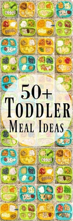 Need some healthy toddler meal ideas? Here are 50 kid-friendly ideas for breakfa… Need some healthy toddler meal ideas? Here are 50 kid-friendly ideas for breakfast, lunch and dinner to help inspire you if you're stuck in a rut! Healthy Toddler Meals, Toddler Snacks, Healthy Snacks, Kids Eating Healthy, Toddler Breakfast Ideas, Healthy Toddler Breakfast, Lunch Snacks, Healthy Living, Dinners For Kids