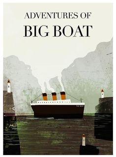 Adventures of Big Boats by Jon Klassen