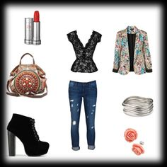 """jeans outfit"" by kkollektion on Polyvore"