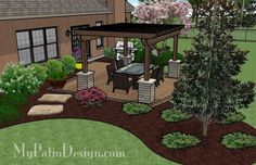 A Patio Designed with Shade | Patio Designs and Ideas - Garden Dreams