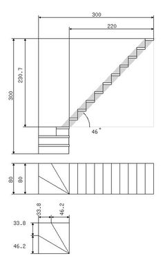 Staircase Design Modern, Home Stairs Design, Tiny House Stairs, House Staircase, How To Make Stairs, Escalier Art, Stair Dimensions, Stair Plan, Types Of Stairs