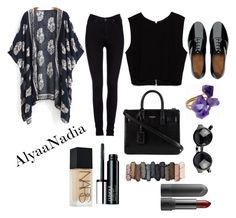 """""""Hipster"""" by alyaanadia on Polyvore featuring Helix & Felix, Lee, Zara, FitFlop, Yves Saint Laurent, Urban Decay, Clinique and NARS Cosmetics"""