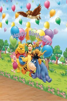 35th Birthday Ideas Eeyore Tigger Happy Greetings Disney Babies Pooh Bear Personal Style Winnie The