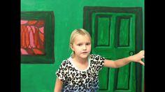 Green Screaming in Art, creative fun for the whole class!