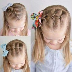 haar kinderen meisjes haar kinderen meisjes Little Girls Haircuts. Struggling to find some fashionable and sweet hairstyles School Picture Hairstyles, Girls School Hairstyles, Girls Hairdos, Baby Girl Hairstyles, Princess Hairstyles, Teenage Hairstyles, Hairdos For Little Girls, Hair Girls, Easy Toddler Hairstyles