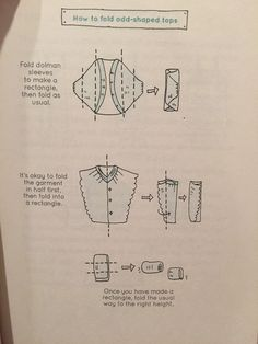 KonMari How to Odd-shaped Tops