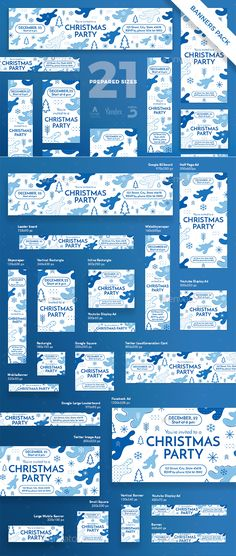 Christmas Party Banner Pack