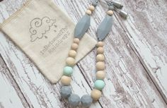Silicone Necklace Silicone Teething  Nursing Necklace/ Grow With Me /Breastfeeding/ Baby/ Baby Shower/ Gift/ New Mom/ Chewbea