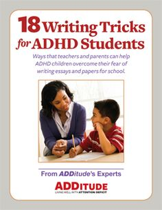 how to help a student with adhd maintain attention