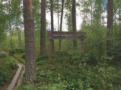 Mulkkujärven kierros Alavus. Trunks, Drift Wood, Tree Trunks