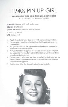 1940s Pin Up Girl