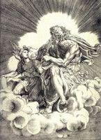 Agostino Veneziano (d'après) Saint Mathieu et l'ange, 1518-1520 Vienne, Albertina
