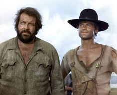 Terence Hill Bud Spencer They call me Trinity Cinema Tv, Cinema Movies, Movie Tv, Pernell Roberts, Western Film, Western Movies, Westerns, Bud Spencer Terence Hill, Mejores Series Tv