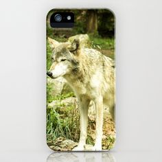 Timber+Wolf+iPhone+&+iPod+Case+by+enCompass+Studio+-+$35.00