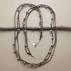TURQUOISE TEMPO NECKLACE