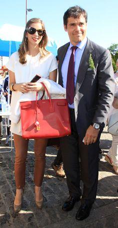 Luis Alfonso de Borbón y Margarita Vargas por La Camarga #travel