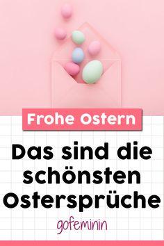 Happy Easter: Die schönsten Ostersprüche für Karten Erika, Quote Pictures, Reunions, Poetry