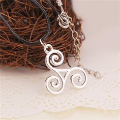 Teen Wolf Triskelion Necklace