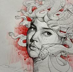 Alvin Chong #art #drawing #sketch http://instagram.com/artofalvin