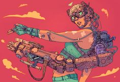 Josan Gonzales creates candy-colored worlds that take us through the psyches of…