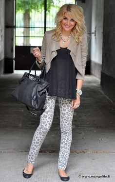 neutrals and animal print