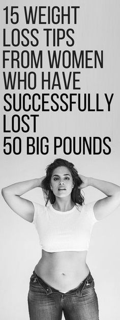 15 weight loss tips from women who have successfully lost 50 pounds. | Posted By: NewHowToLoseBellyFat.com