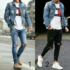 Guys trendy outfits menswear is part of Mens outfits - Stylish Mens Outfits, Casual Outfits, Fashion Outfits, Nice Outfits, Casual Jeans, Men Casual, Dope Fashion, Mens Fashion, Perfect Outfit