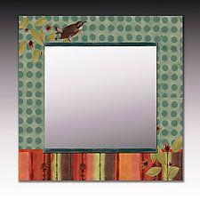 Mixed-Media Mirror by Janna Ugone and Justin Thomas