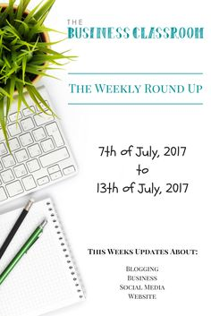 The Weekly Round Up – 7th July – 13th July 2017   In this weeks weekly round up we cover the new updates from SnapChat, Google My Business, website regular checks.