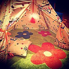 Najnowsze dzieło dla mojej córki. Namiot TIPI, po instrukcje zapraszam na www.prawie-perfekcyjna-pani-domu.blogspot.com do zakładki DIY