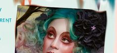 Toxic Nature makeup from the make up experts at Illamasqua,,, Gorgeous