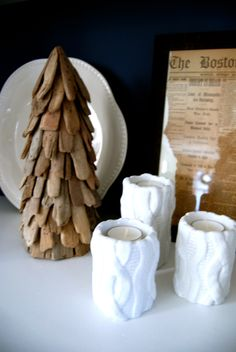 Rustic Holiday Decor | WhereWeAreBlog.com