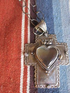 Love this Mexican Silver Heart necklace