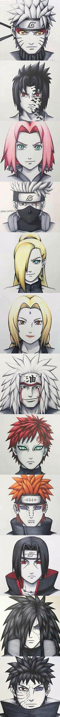 Anime Naruto, Naruto Fan Art, Naruto And Hinata, Boruto, Naruto Shippuden, Kakashi Sharingan, Shikamaru, Anime Eyes, Anime Manga