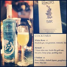 7 Sirens Rum and Raven and Rose  The Rookery Bar