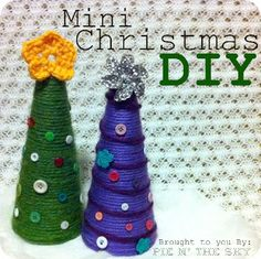 Mini karácsonfa - képekkel, leírással