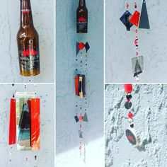 Finished a #budweiserselect #beer #bottle #windchime. I really like the #colors in this one! I #love making these because everyone is so different and #unique I get to be #creative #etsy #etsyshop #etsyfinds #beersofinstagram #beers #budweiser #select #handmade