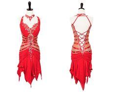 Inferno | Rhythm & Latin Dresses | Encore Ballroom Couture Gorgeous!!