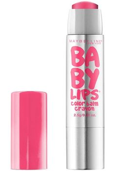 Baby Lips® Color Balm Crayon - Bring on bold bursts of bright, juicy color with 12 hours of hydration! CREAMY CORAL