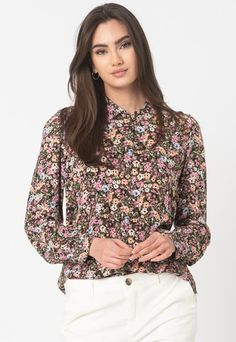 Fashion Days, Edc, Blouse, Long Sleeve, Floral, Sleeves, Tops, Products, Women