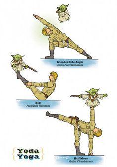 Stretchy: Star Wars Yoga