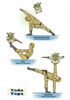 Stretchy: Star Wars Yoga --  OHM! --  #yoga #meditation #buddha #fitness #fitspo #workout #exercise #gym #fitnessmotivation #sports #chant #asian #medicine  Like, Share, Repin :) --   #Nutritionable --   http://www.nutritionable.com