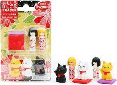 Iwako Eraser Set