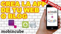 Bueno amigos, muchos lo pidieron y aquí les dejo un video tutorial donde te enseño como crear una app de tu web o blog y ganar dinero con admob y adsense.